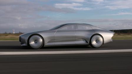 梅赛德斯奔驰概念车的动力展现