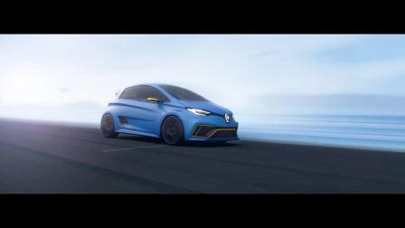 雷诺unveils ZOE e-Sport电动概念车