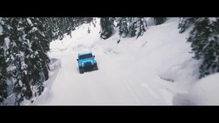 Jeep牧马人 雪地精彩广告
