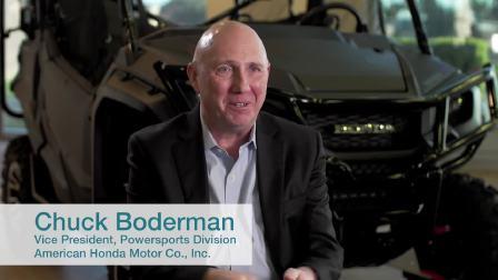 Chuck Boderman讲述本田在社区中的普遍应用
