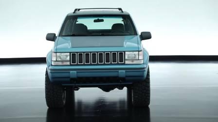 360度全景展示 复古的味道jeep切诺基