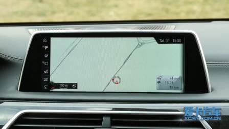 宝马7系 导航系统展示