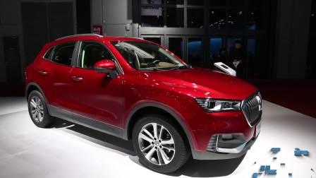 2017上海车展 宝沃BX5全新紧凑级SUV