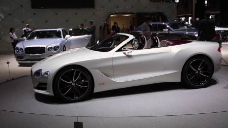 2017上海车展 宾利概念车EXP 12 Speed 6e国内首秀
