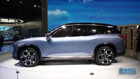 2017上海车展 蔚来ES8电动大七座SUV