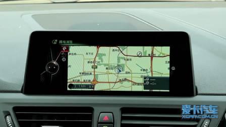 宝马1系 导航系统展示