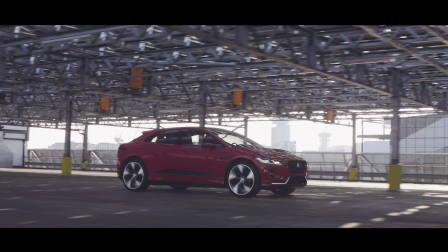 捷豹I-PACE 概念车 伦敦奥林匹克公园街头首秀