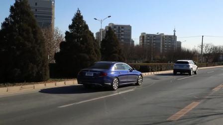 【全车功能展示】 奔驰E级E320L 自适应巡航演示