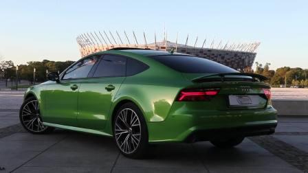 2017款奥迪A7Sportback 嫩绿嫩绿的颜王