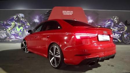 全新2018款奥迪RS3三厢 400马力小钢炮