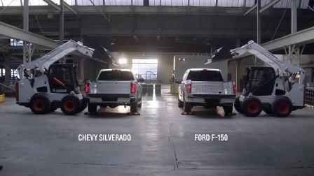 2017款雪佛兰SILVERADO1500对比福特F-150