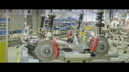 保时捷911一百万分之一个的滚动生产线