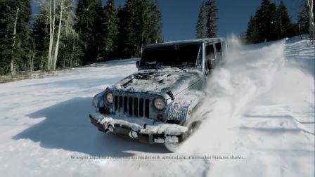 Jeep牧马人雪地极限