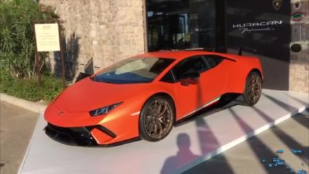 Huracan Performante外观展示