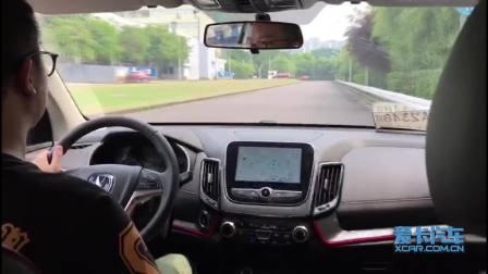 长安CS55新入门紧凑级SUV 爱卡首次路试