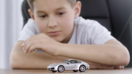 保时捷 小孩儿对车的梦想