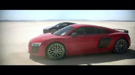 奥迪RS8性能机器 在沙漠里的生活方式