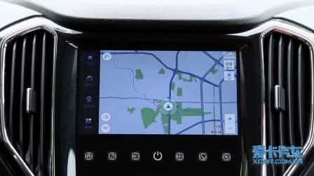 长安CX70 导航系统展示