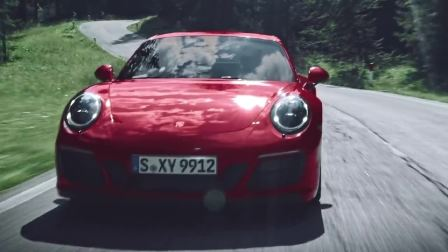 保时捷 911 GTS 动态