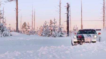 冰雪试驾保时捷