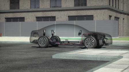 奥迪全新A8 四轮主动转向技术