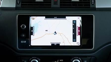 观致3GT 导航系统展示