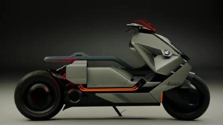 宝马概念摩托 线条之美