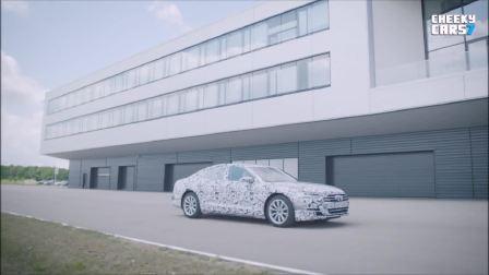全新2018奥迪A8疯狂越野试驾