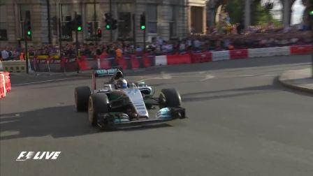 奔驰车队Valtteri 带你感受伦敦街道F1