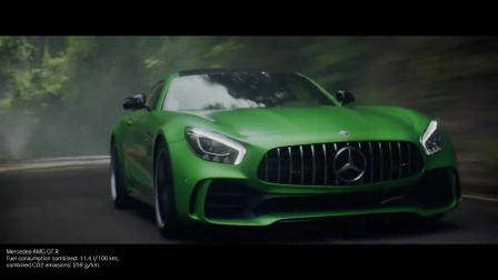 最恐怖的绿色野兽 奔驰AMG GT抵达赛道