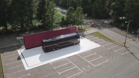 世界首演的新双层巴士 奔驰戴姆勒携S531DT精彩亮相