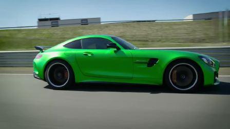 奔驰AMG GT R 赛道狂飙 带你感受狂野