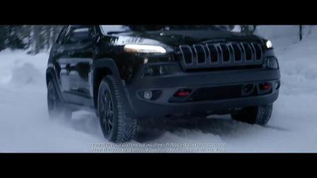 雪地里的Jeep潇洒自如