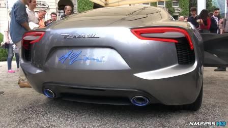 全新玛莎拉蒂概念车 惊人V8声浪