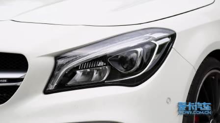 【全车功能展示】奔驰CLA级AMG 灯光展示