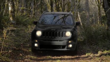 Jeep穿梭在城市与森林之间