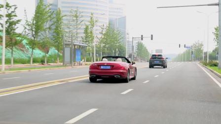 【全车功能展示】 奔驰SL级 自适应巡航展示