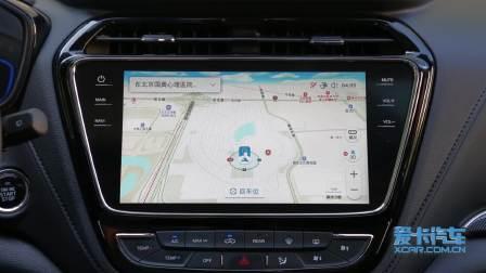 长安欧尚A800 导航系统展示