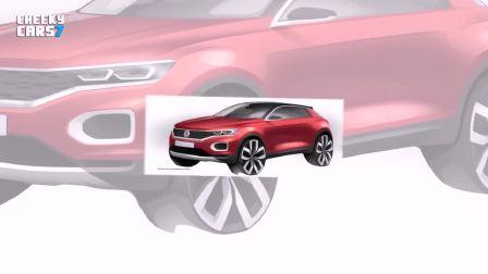 2017法兰克福车展 大众T-ROC引领时尚
