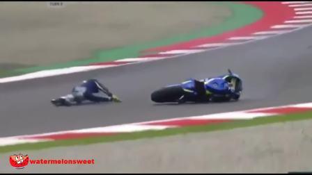 世界摩托车锦标赛 严重摔车事故集锦