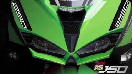 2018款全新川崎Ninja 250 FI