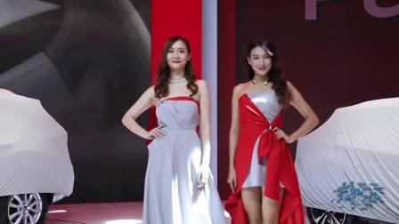 2017成都车展 日产展台模特走秀
