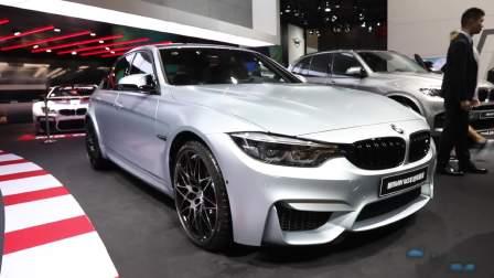 2017成都车展 全新宝马M3车迷限量版