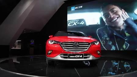 2017成都车展 一汽马自达CX-4