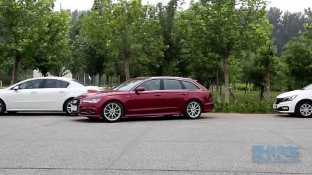 奥迪A6 Avant 自动泊车辅助展示