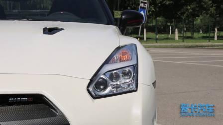 日产GT-R 灯光展示