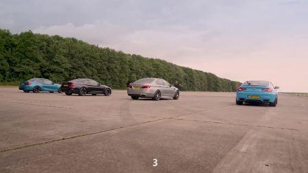宝马M系直线加速比拼 最慢的竟然是它