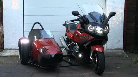 宝马K 1600 GT改装边三轮摩托