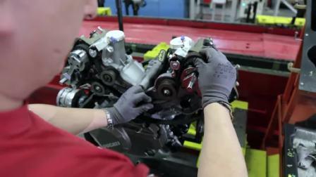 杜卡迪MTS 1200发动机制造过程