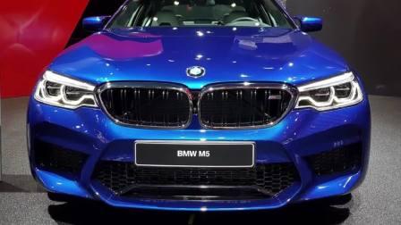 2017法兰克福车展 2018宝马M5